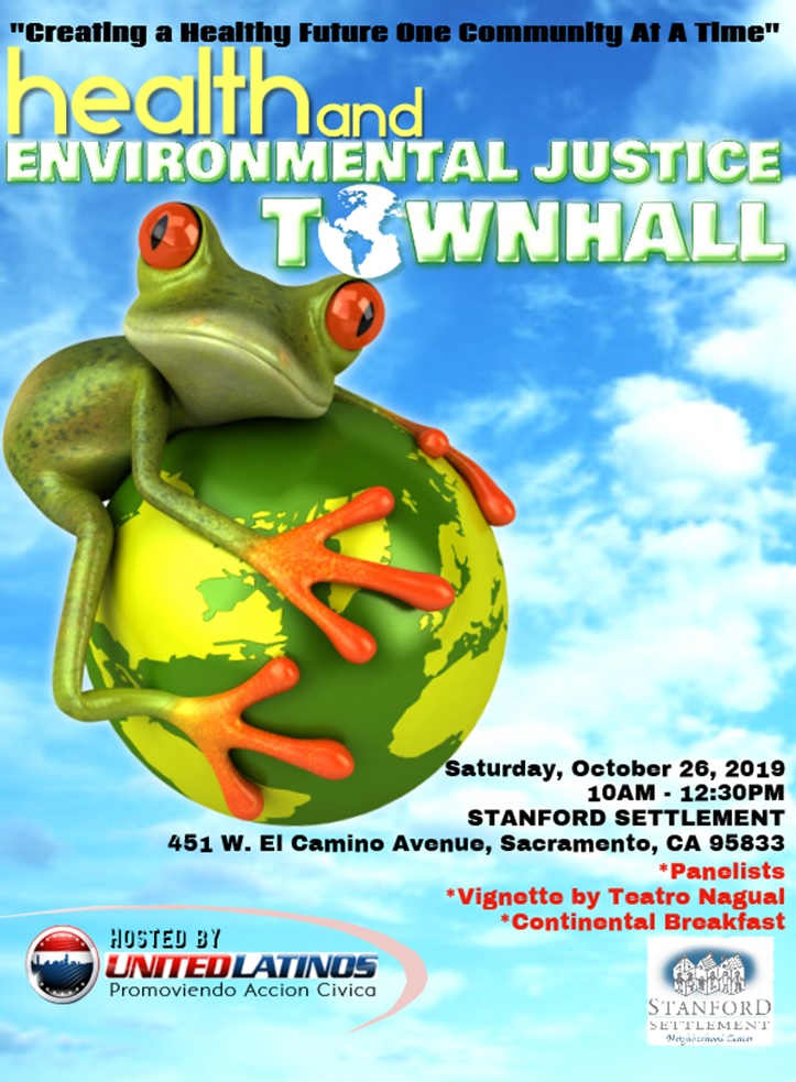 Health & Environmental Justice 2019 Save the Date